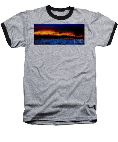Fire On The Mountain  Baseball T-Shirt