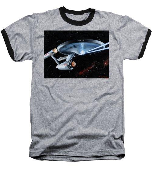Fire Phasers Baseball T-Shirt