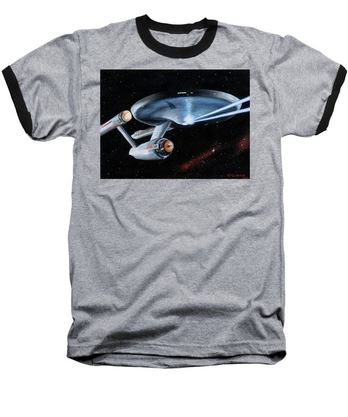 Fire Phasers Baseball T-Shirt
