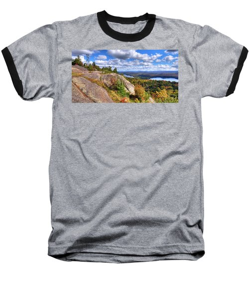 Fire Tower On Bald Mountain Baseball T-Shirt