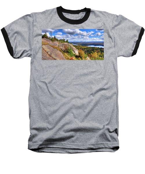 Fire Tower On Bald Mountain Baseball T-Shirt
