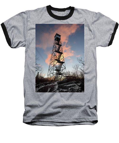 Fire Tower Sky Baseball T-Shirt
