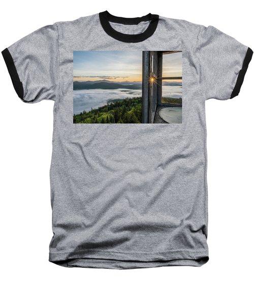 Fire Tower Sunburst Baseball T-Shirt