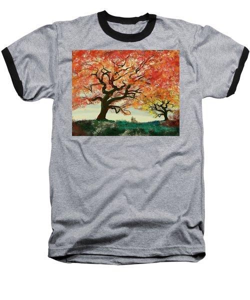 Fire Tree Baseball T-Shirt
