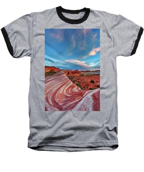 Fire Wave IIi Baseball T-Shirt
