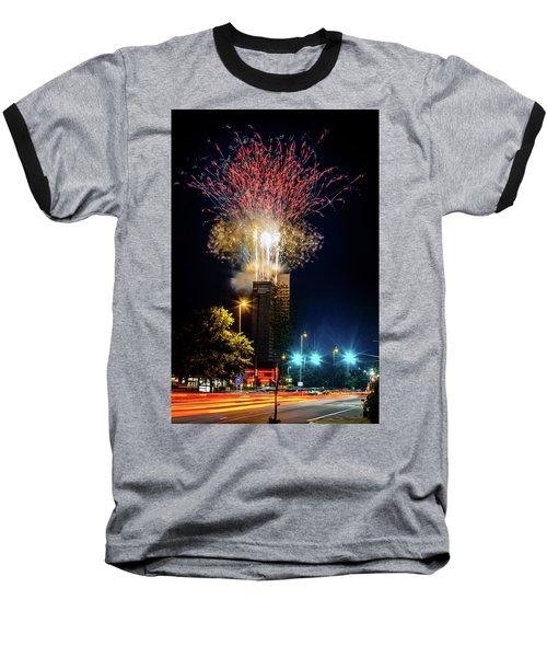 Fire Works In Fort Wayne Baseball T-Shirt