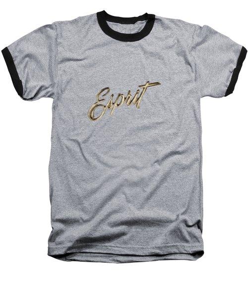 Firebird Esprit Chrome Emblem Baseball T-Shirt