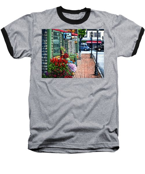 Firefly Lane Bar Harbor Maine Baseball T-Shirt