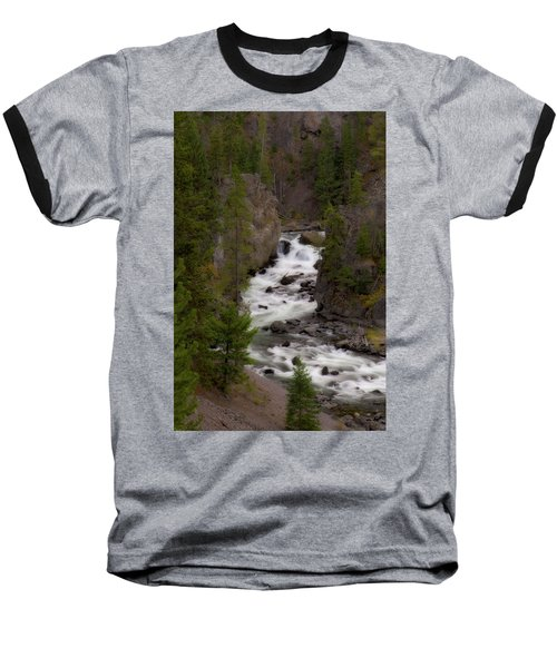 Baseball T-Shirt featuring the photograph Firehole Canyon by Steve Stuller