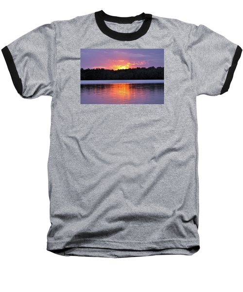 Baseball T-Shirt featuring the photograph Sunsets by Glenn Gordon