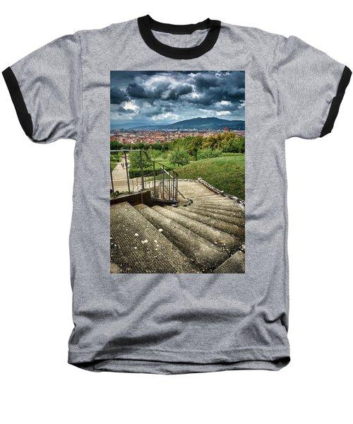 Firenze From The Boboli Gardens Baseball T-Shirt