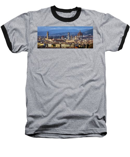 Firenze Baseball T-Shirt by Sonny Marcyan