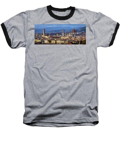 Baseball T-Shirt featuring the photograph Firenze by Sonny Marcyan