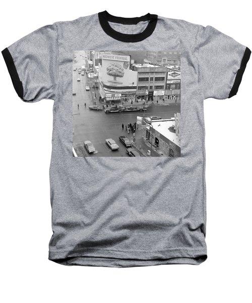 Firetruck Heads Down Hennepin Baseball T-Shirt