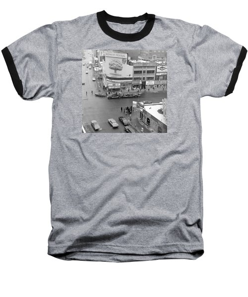 Firetruck Heads Down Hennepin Baseball T-Shirt