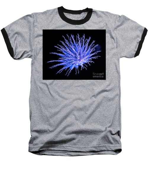 Firework Blue Baseball T-Shirt