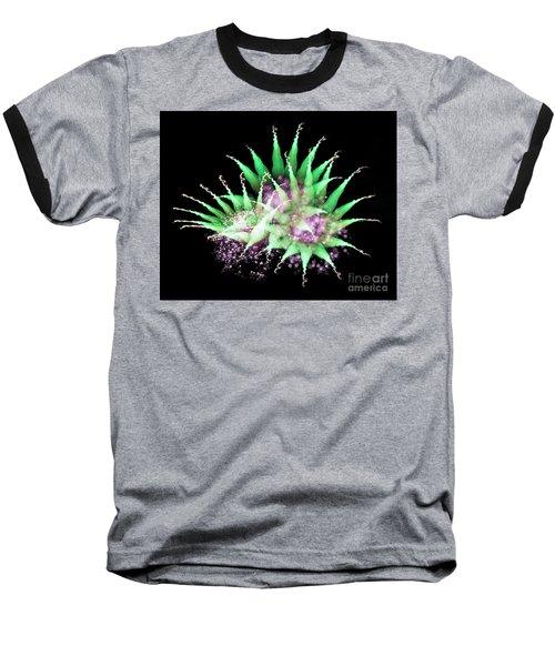 Firework Harlequin Baseball T-Shirt