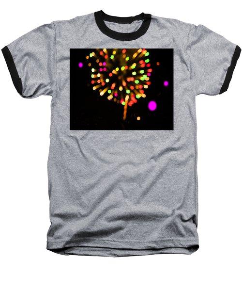 Firework Baseball T-Shirt