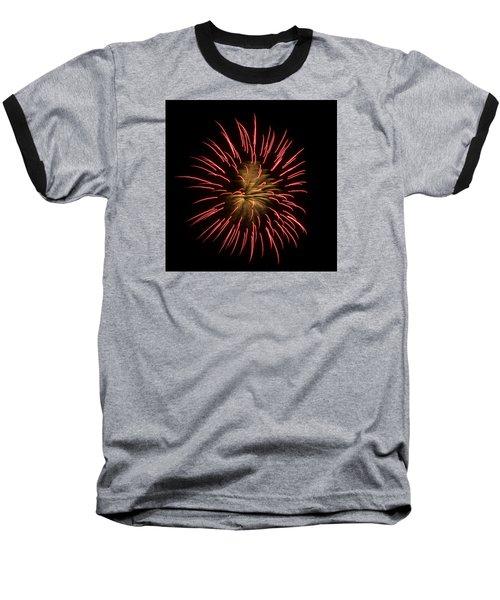 Fireworks 2 Baseball T-Shirt by Ellery Russell