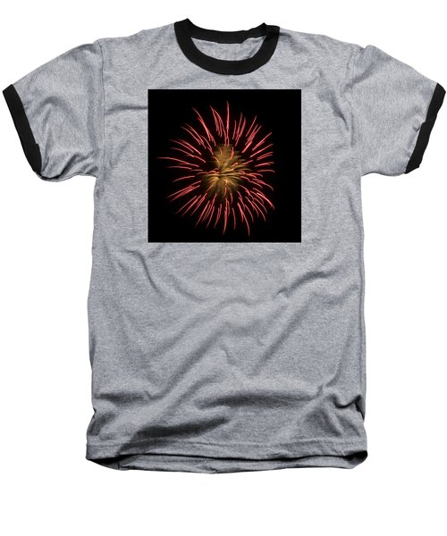 Fireworks 2 Baseball T-Shirt