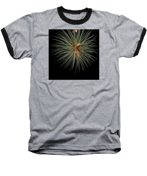 Fireworks 3 Baseball T-Shirt by Ellery Russell