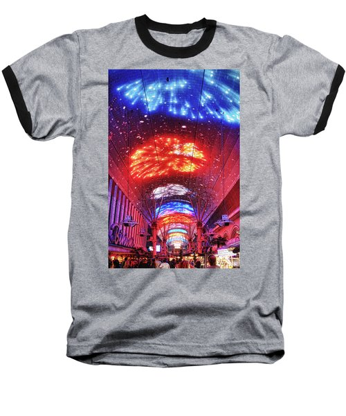 Fireworks Display In Las Vegas Baseball T-Shirt