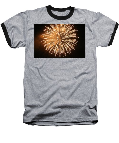 Baseball T-Shirt featuring the digital art Fireworks In The Park 5 by Gary Baird