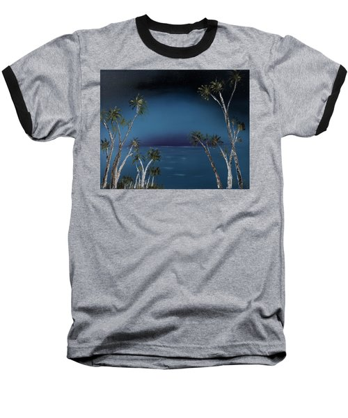 Fireworks Palms Baseball T-Shirt