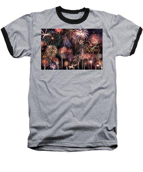 Fireworks Spectacular II Baseball T-Shirt