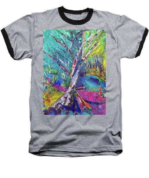 Firey Birch Baseball T-Shirt