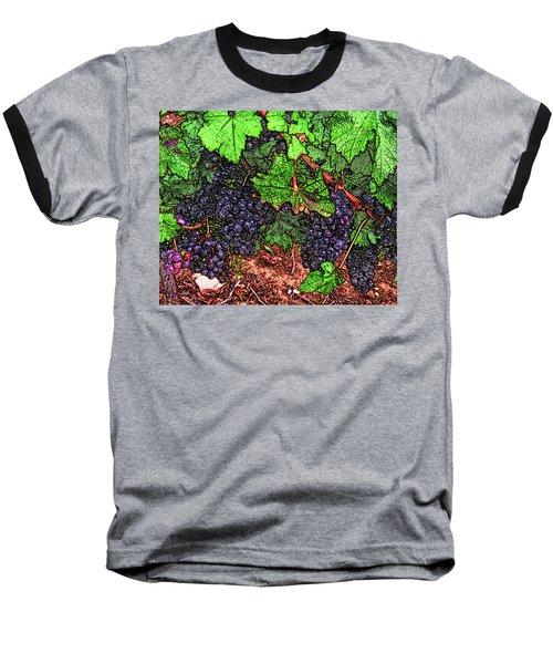 First Came The Grape Baseball T-Shirt