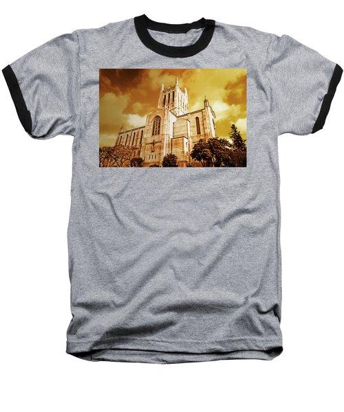 First Congregational Church  Baseball T-Shirt