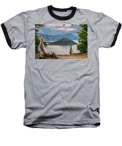 First Crater View Baseball T-Shirt