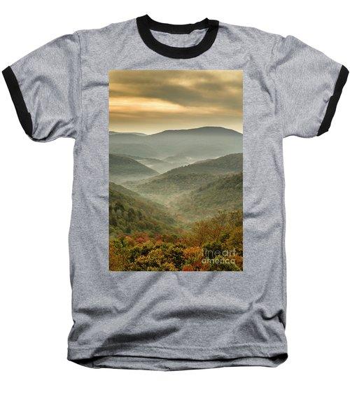 First Day Of Fall Highlands Baseball T-Shirt