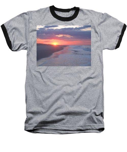 Baseball T-Shirt featuring the photograph First Daylight by Newwwman