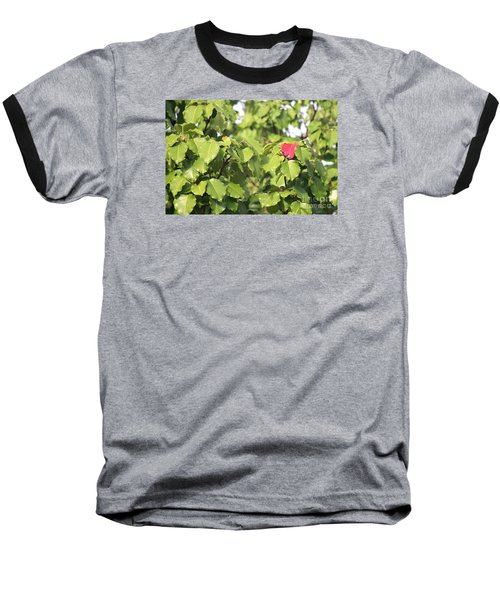 First Fall Leaf Baseball T-Shirt