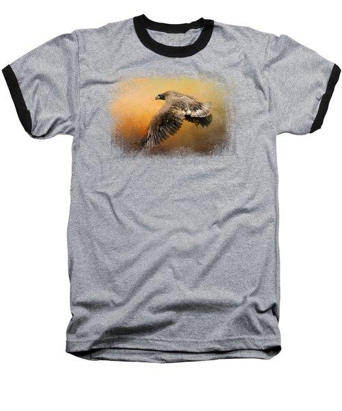 First Flight Baseball T-Shirt by Jai Johnson