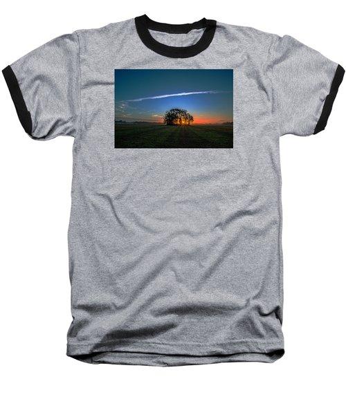 First Light At Center Grove Baseball T-Shirt