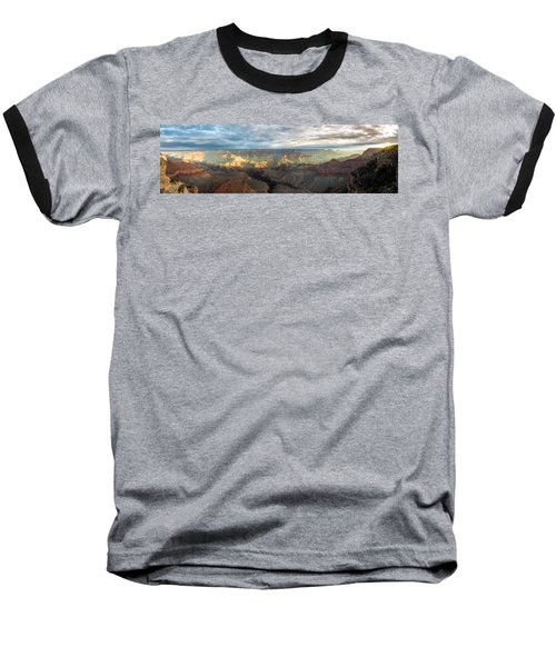 First Light In The Canyon Baseball T-Shirt