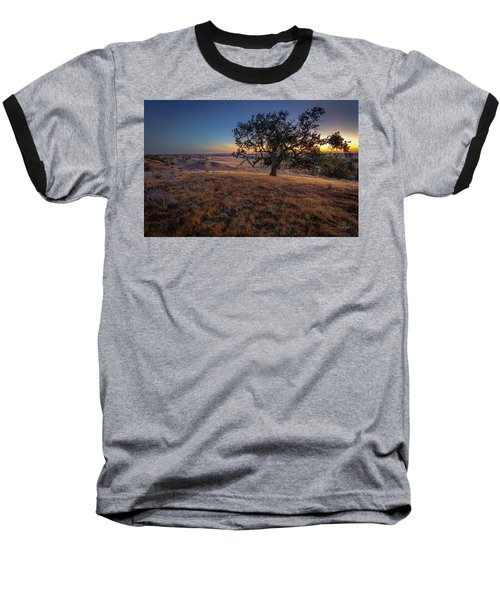 First Light On The  Canyon Ranch Baseball T-Shirt