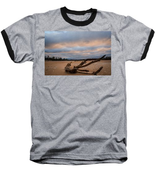 First Light On The Kaw Baseball T-Shirt