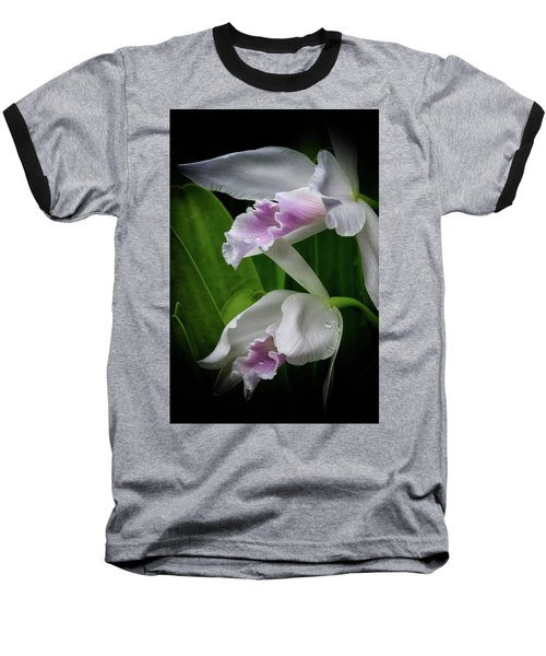 First Orchid At The Conservatory Of Flowers Baseball T-Shirt