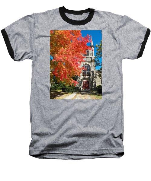 First Parish Unitarian Church Baseball T-Shirt