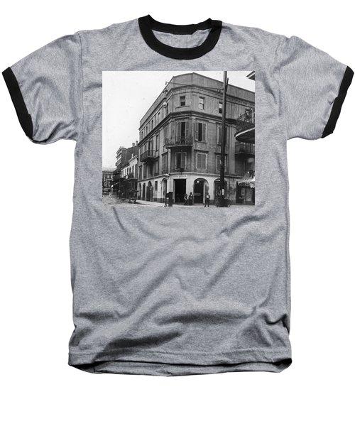 First Skyscraper Baseball T-Shirt