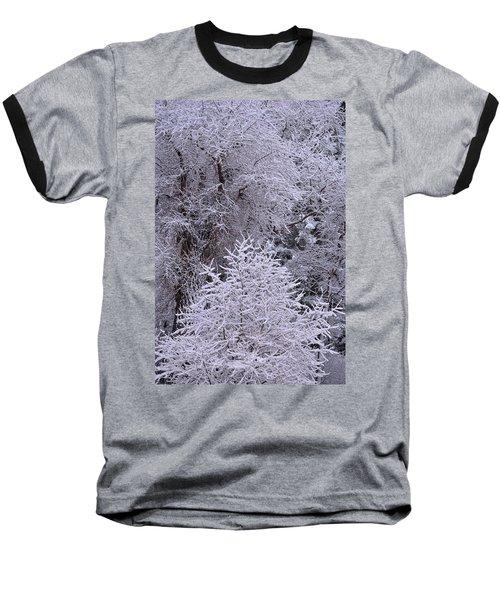 First Snow I Baseball T-Shirt