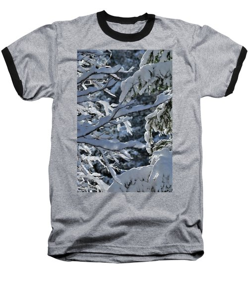 First Snow II Baseball T-Shirt