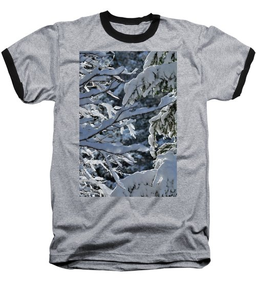 First Snow II Baseball T-Shirt