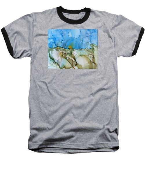 First Snowfall Baseball T-Shirt by Pat Purdy