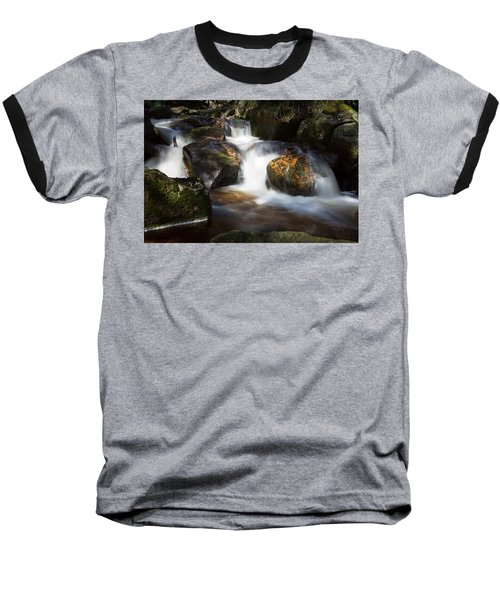 first spring sunlight on the Warme Bode, Harz Baseball T-Shirt