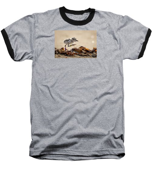 First Steps Baseball T-Shirt by Alice Cahill